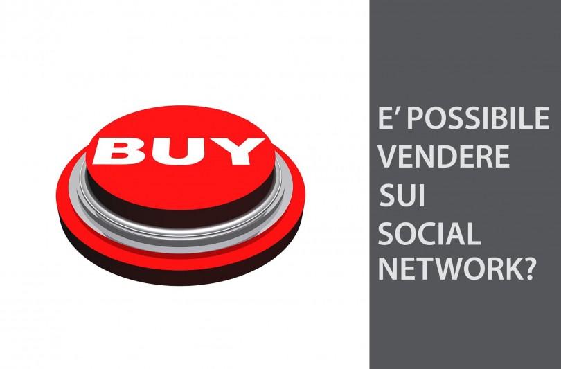 come vendere sui social