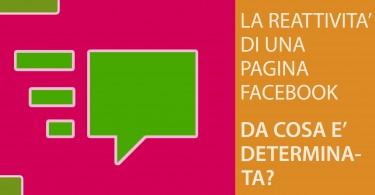 La reattività di una pagina Facebook
